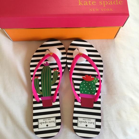 a330debdf NIB Kate Spade Nassau Flip Flops